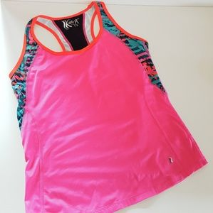 KATIE K COUTURE ACTIVE 50 SPF PINK TANK